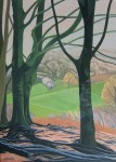 Looking through the beech trees SOLD
